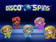 Бонусы Вулкан, аппарат Disco Spins онлайн